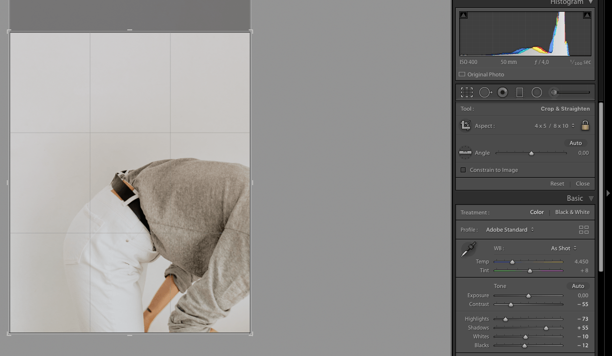 how i edit and export instagram photos
