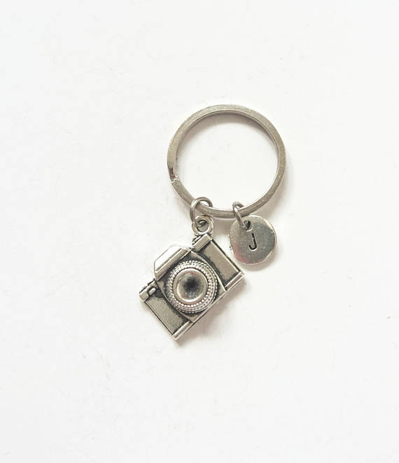photography accessories wishlist silver metal keychain keyring