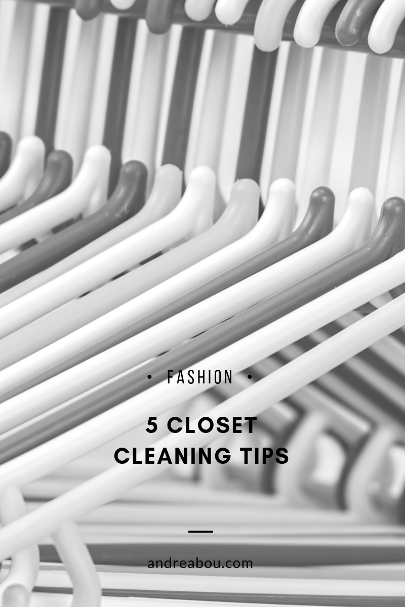 closet cleaning tips