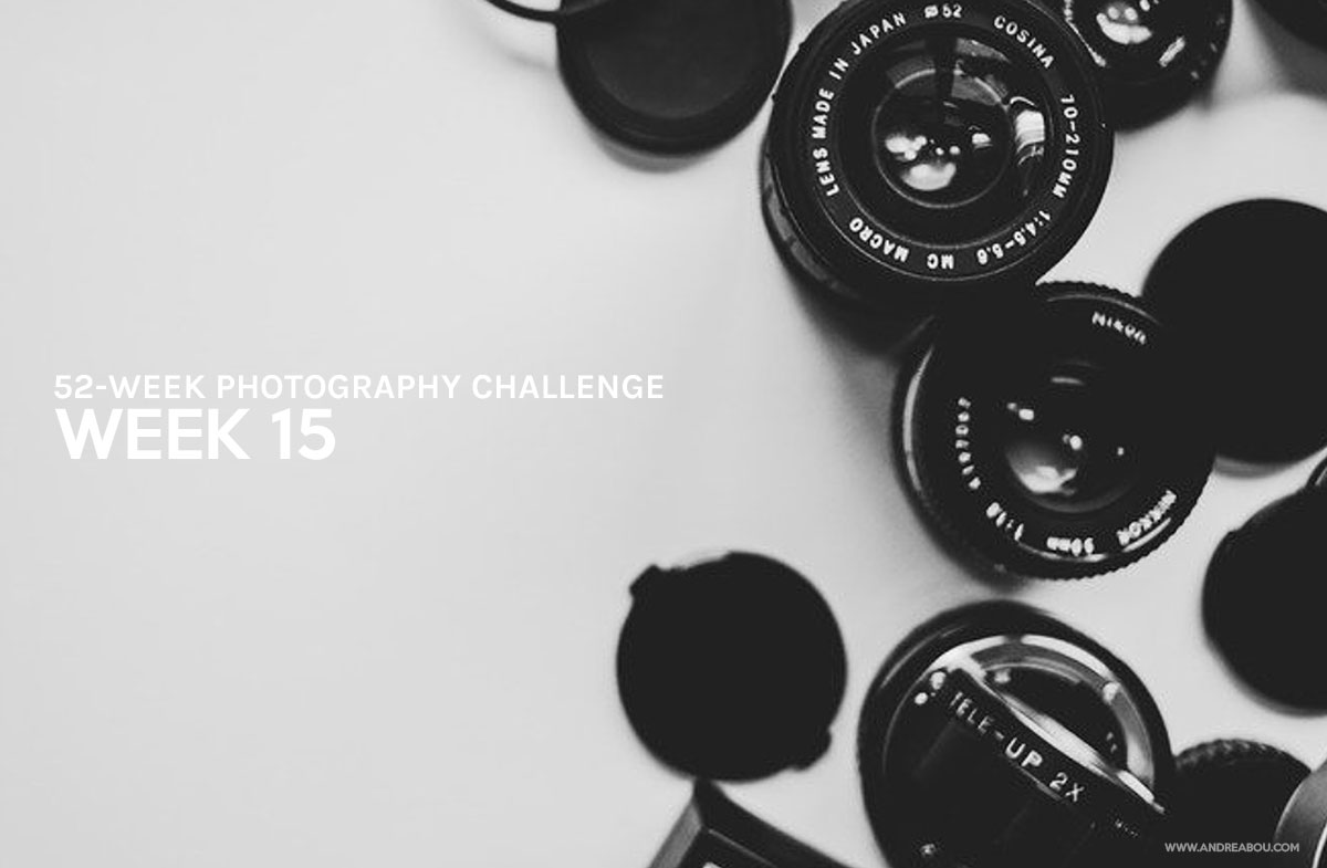 52-Week Photography Challenge: Week 15